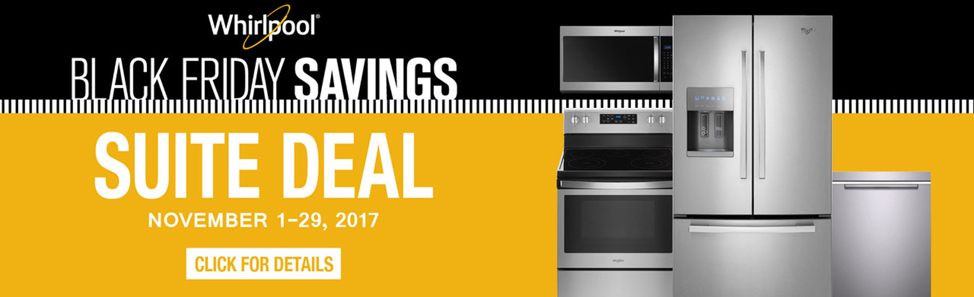 Whirlpool Black Friday Suite Deals